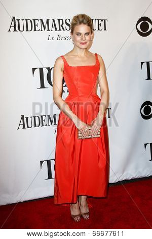 NEW YORK-JUNE 8: Actress Celia Keenan-Bolger attends American Theatre Wing's 68th Annual Tony Awards at Radio City Music Hall on June 8, 2014 in New York City.