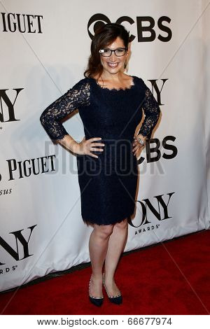 NEW YORK-JUNE 8: Randi Zuckerberg attends American Theatre Wing's 68th Annual Tony Awards at Radio City Music Hall on June 8, 2014 in New York City.