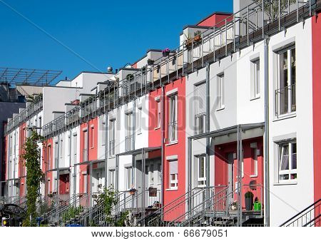 Terraced housing in Berlin