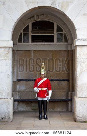 Royal Guard In London