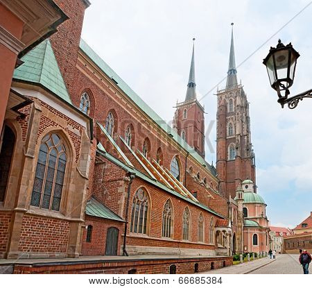The Wroclaw Cathedral