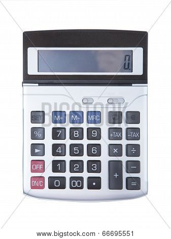 Digital Calculator Isolated