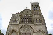stock photo of church mary magdalene  - Basilique  of St - JPG
