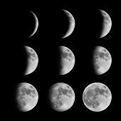image of lunar eclipse  - Time - JPG