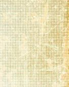 stock photo of graph paper  - Office paper with green squares on it - JPG