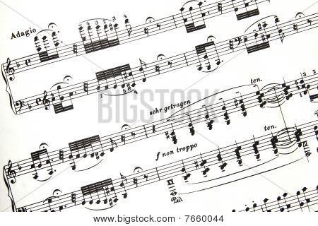 Bach Score Fragment