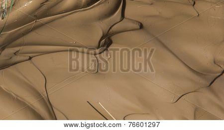 Flowing mud texture
