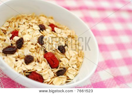 Nutritious Oatmeal For Breakfast