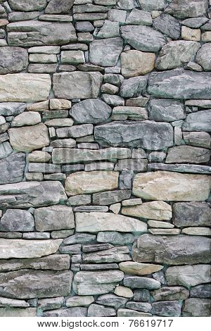 Background Of Grudge Stone Wall