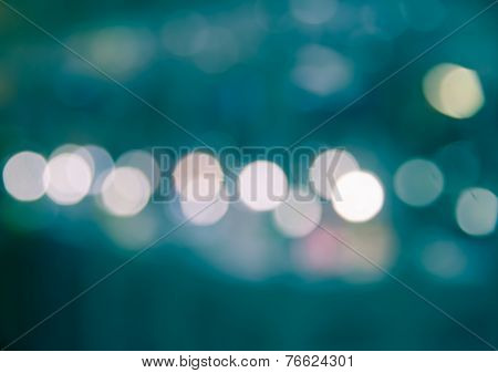 Abstract Bokeh Blur Background