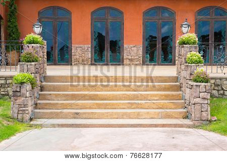 Tuscany Steps