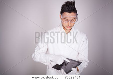 Young Man Electronic Technical