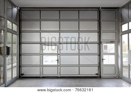 Big Garage Door