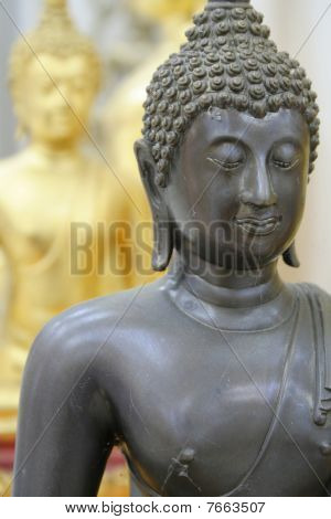 Close-up Of A Buddha Statue