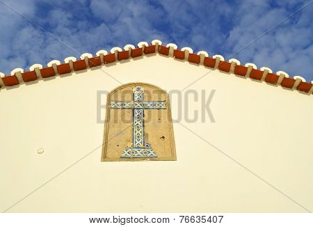 The Chapel of Nossa Senhora da Rocha gable end