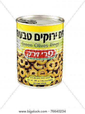 Green Olives Rings Pri Vayerek