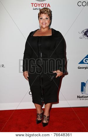 LOS ANGELES - NOV 19:  Tamela Mann at the Ebony Power 100 Gala at the Avalon on November 19, 2014 in Los Angeles, CA