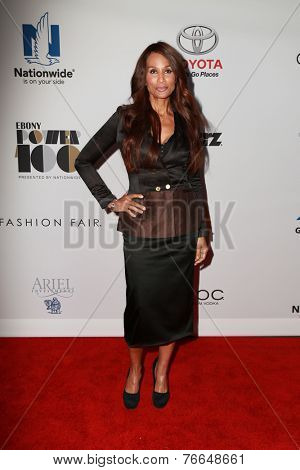 LOS ANGELES - NOV 19:  Beverly Johnson at the Ebony Power 100 Gala at the Avalon on November 19, 2014 in Los Angeles, CA