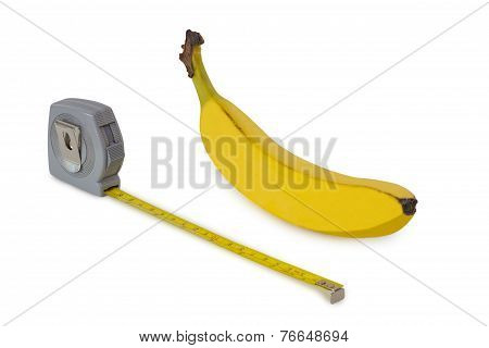 Banana And Measuring Tape