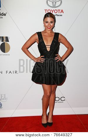 LOS ANGELES - NOV 19:  Genevieve Jackson at the Ebony Power 100 Gala at the Avalon on November 19, 2014 in Los Angeles, CA