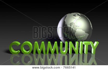 globale Gemeinschaft