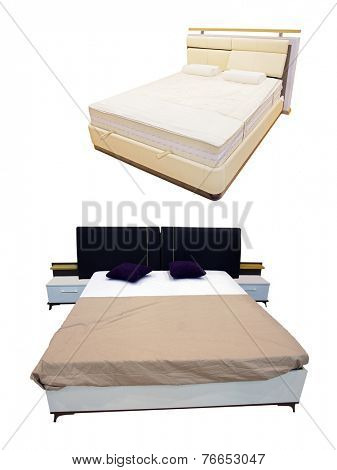 The image of a bed