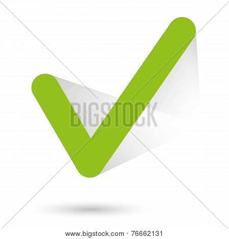 Right symbol illustration - vector stock