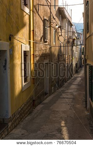 City pag small street