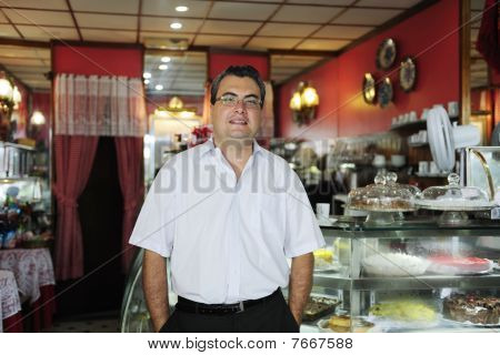 Owner Of A Small Business/ Cake Store/ Cafe