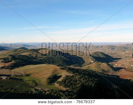 The Foresty Atlas Mountains Of Morocco