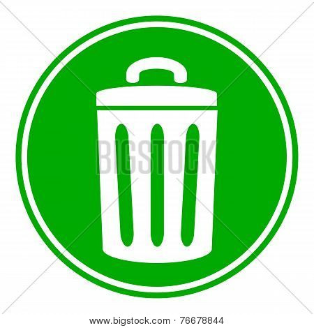 Garbage Button
