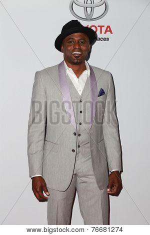 LOS ANGELES - NOV 19:  Wayne Brady at the Ebony Power 100 Gala at the Avalon on November 19, 2014 in Los Angeles, CA