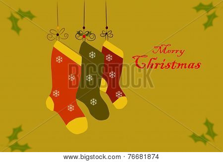 Christmas Card With Text 01