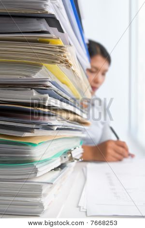 Paperwork And Worker