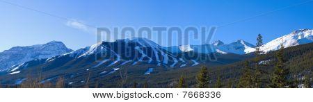 Ski Hill Mountain Panorama