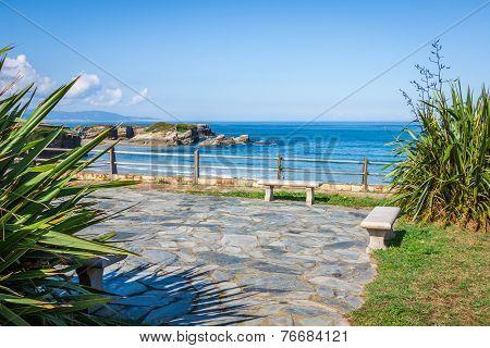 Beach Of Las Catedrales Or As Catedrais, Ribadeo, Galicia, Spain