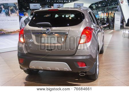 Buick Encore Car On Display