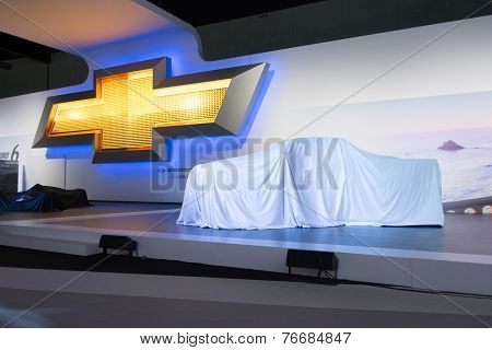Chevrolet Press Conference To Debut Car