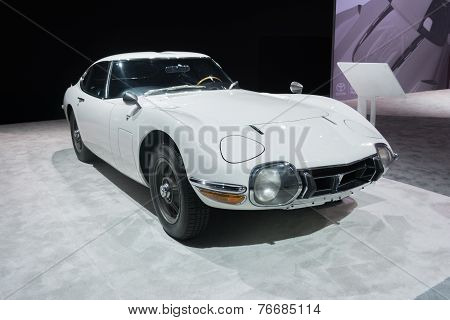 Toyota 2000 Gt Coupe 1967 On Display