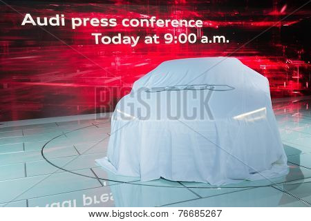 Audi Press Conference To Debut Car