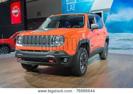 Jeep Renegade Trailhawk 2015 On Display
