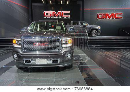 Gmc Trucks On Display On Display