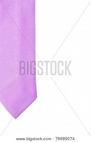 Plain Purple Business Neck Tie