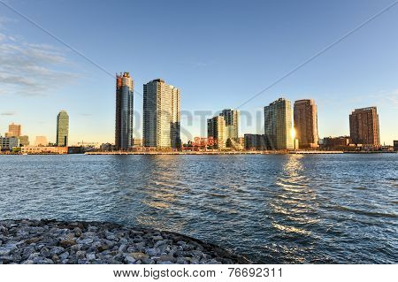Long Island City From Roosevelt Island, New York