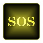 picture of sos  - SOS icon - JPG