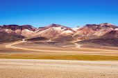 picture of eduardo avaroa  - Mountain of seven colors at the national park  - JPG
