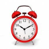 stock photo of analog clock  - Alarm clock - JPG