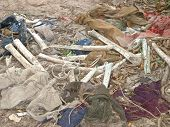 Clothing and Bones at Cambodia's Killing Fields