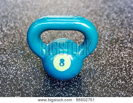 Kettlebell In The Gym