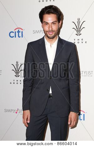 LOS ANGELES - MAR 28:  Joey Maalouf at the Simply Stylist LA at the The Grove on March 28, 2015 in Los Angeles, CA